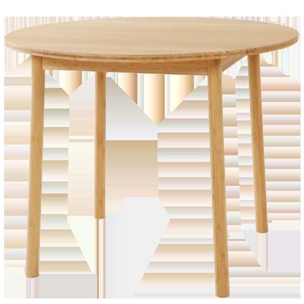 竹集成材のダイニングテーブル