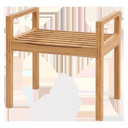 竹集成材のスツール