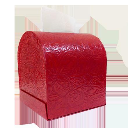 うるし紙 ティッシュボックス